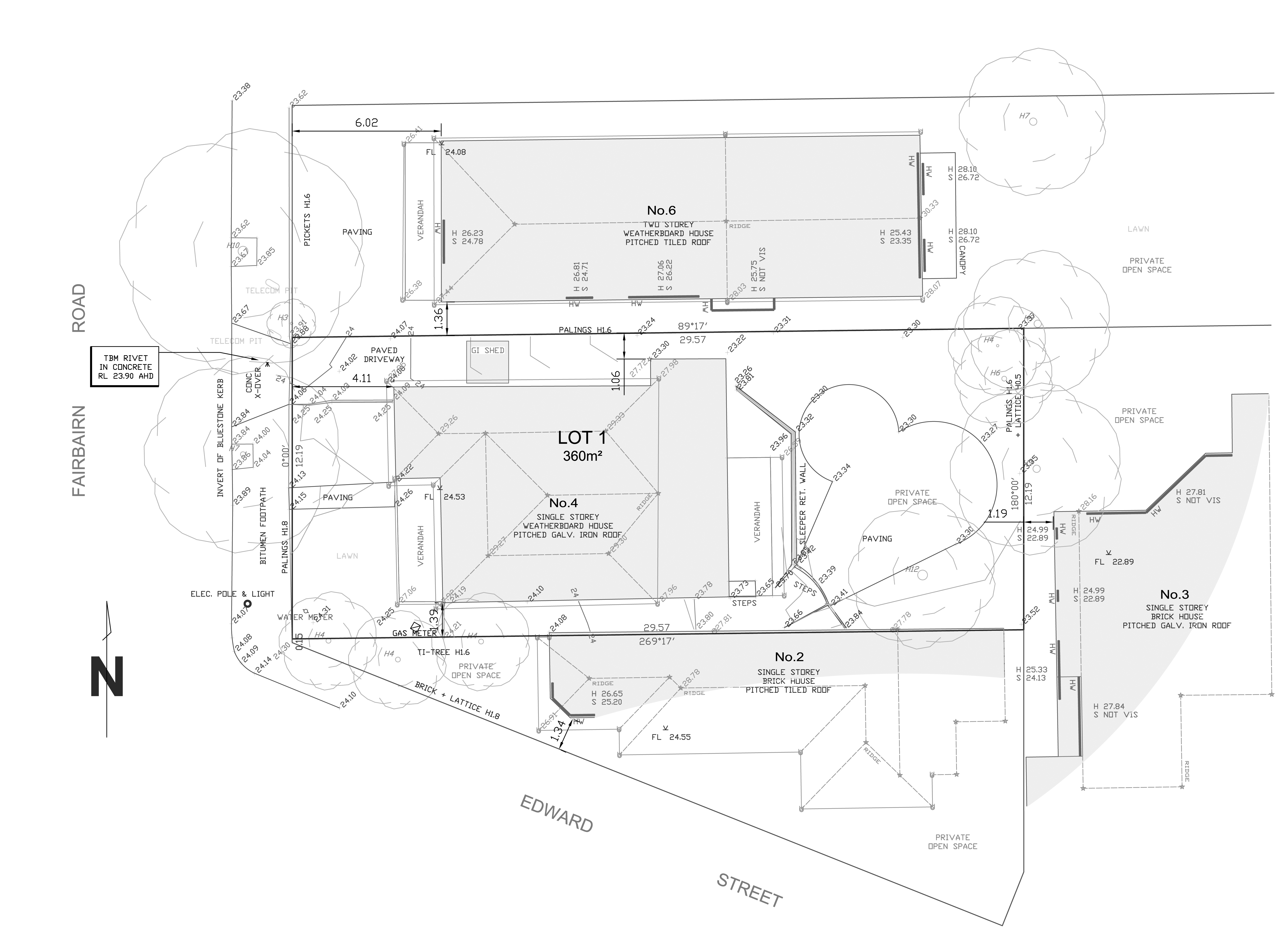 Shadow Diagram Land Survey Plan Information Required